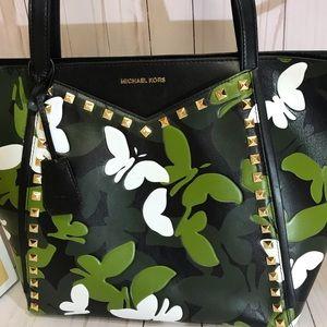 Michael Kors Whitney butterflies bag.